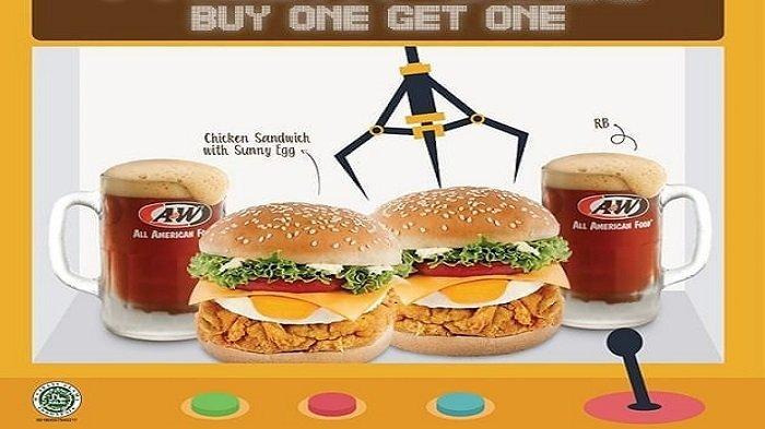 Promo Oktober - Nikmati Makan Burger Jumbo Porsi Double Lebih Irit, Ada J.CO hingga Burger King