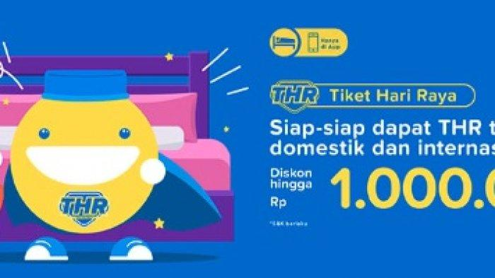 Promo Tiket.com Mei 2019, Ada Diskon Tarif Menginap di Hotel hingga Rp 1 Juta