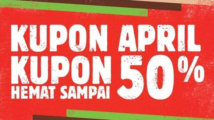 Daftar Promo Burger King Kupon April 2019 Hemat Sampai 50%, Harga Mulai Rp 3 Ribuan