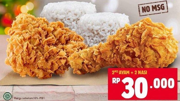 Promo Burger King - Makan King's Chicken Berdua Cuma Rp 30 Ribu, Cek Syarat dan Masa Berlakunya