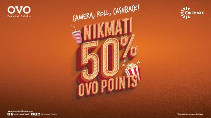 Ilustrasi Promo Cinemaxx dan OVO Cashback hingga 50 Persen