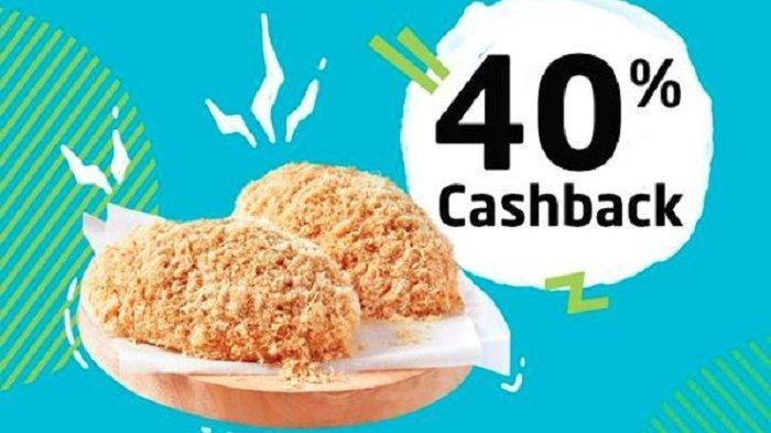 Promo GO-PAY - Beli Bread Talk Pakai GO-PAY dapat Cashback 40 Persen, Baca Syarat dan Ketentuannya