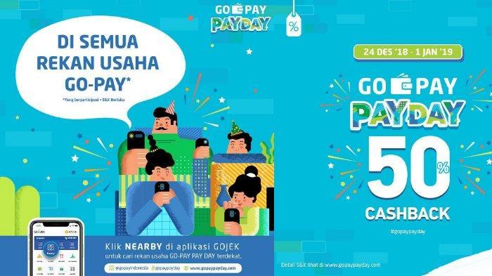 Promo GOPAYPAYDAY - Cashback 50% di Gramedia, J.CO dan Merchant Favorit Lainnya, Lihat Ketentuannya