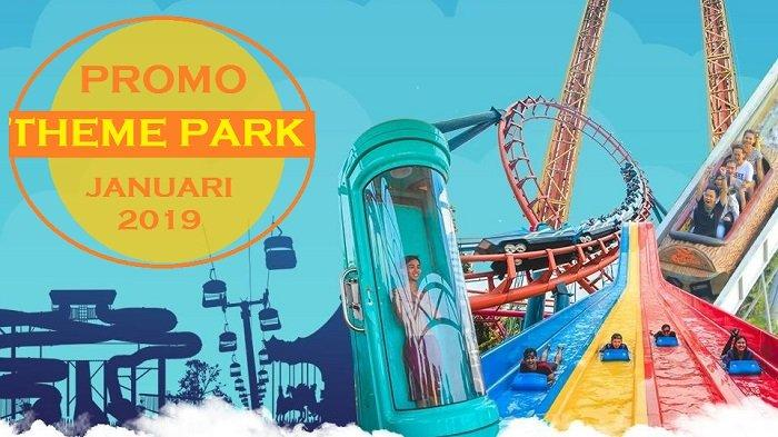 3 Theme Park yang Tawarkan Promo pada Awal 2019, Promo dari Trasera Waterpark Akan Segera Berakhir!