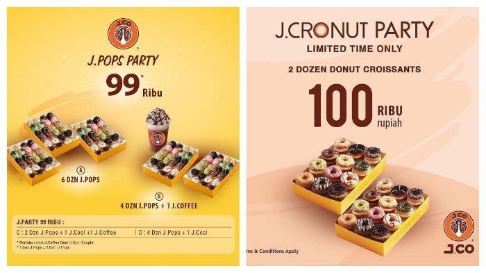 Promo Akhir Tahun dari J.CO