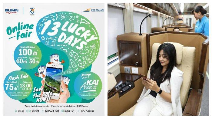 KAI Rilis Promo '13 Lucky Days' Sediakan 151.060 Kursi dengan Harga Miring, Simak Ketentuannya