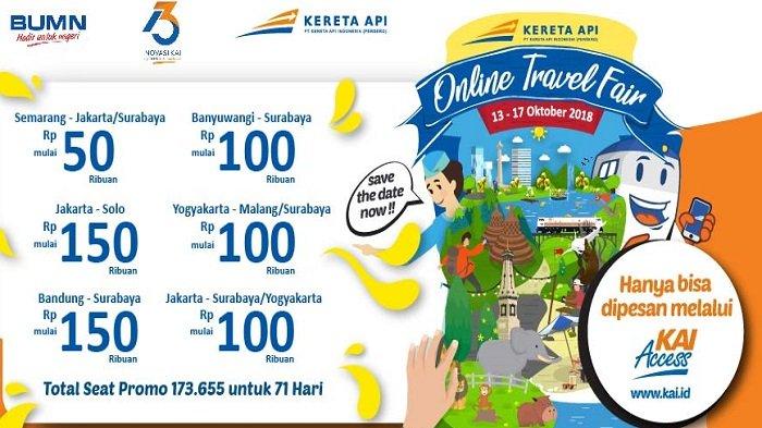 KAI Online Travel Fair! Nikmati Tarif Tiket Kereta Api Eksekutif Hanya Rp 75 Ribu, Mau?