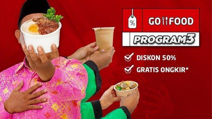 Promo GO-JEK Beragam - Diskon GO-RIDE hingga 50%, GO-FOOD Gratis Ongkir di 8 Merchant Ini
