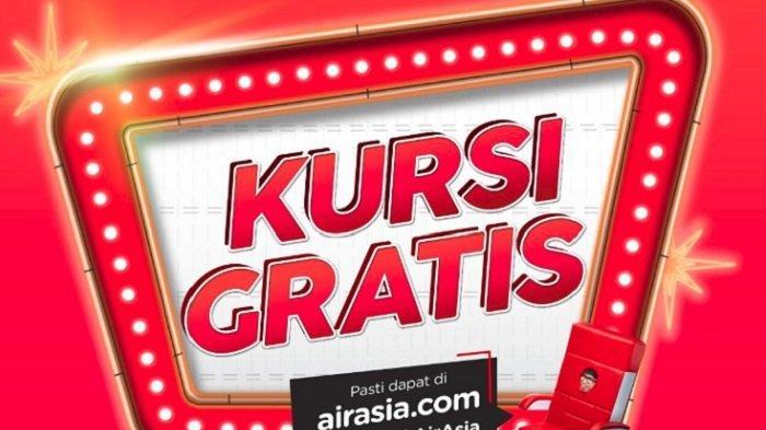 Besok Hari Terakhir Pesan Kursi Gratis AirAsia, Tarif Rp 0 Terbang ke Singapura hingga Penang