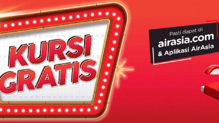 Promo kursi gratis AirAsia