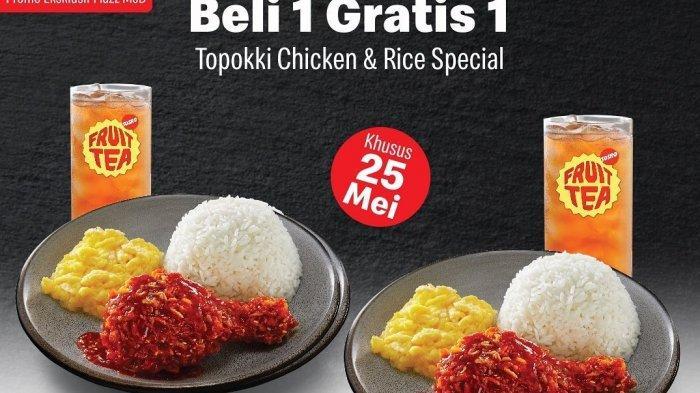 Promo Buka Puasa McDonald's, Beli 1 Gratis 1 Paket Topokki Chicken