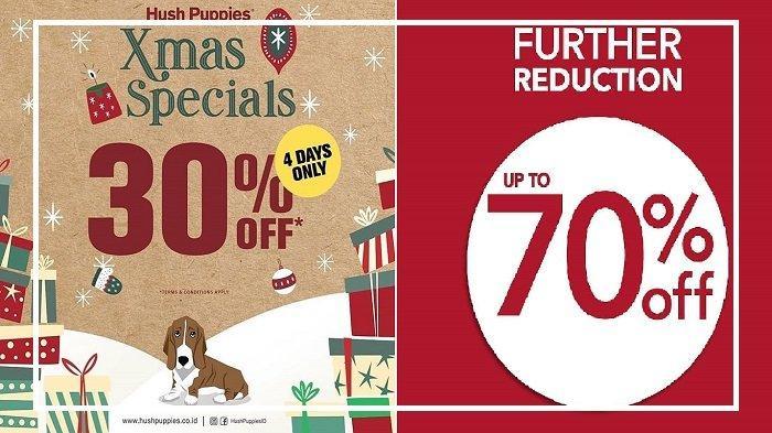 Promo Natal 2018 - Ada Hush Puppies hingga H&M Tawarkan Diskon hingga 70%, Yuk Serbu!