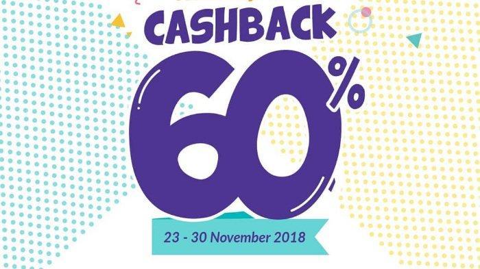 Promo OVO GAJIAN - CASHBACK 60% di Merchant Favorit dan Grab Food, Lihat Ketentuannya