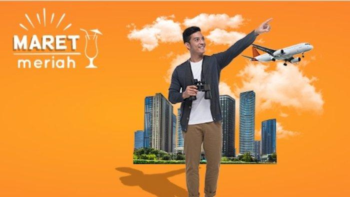 Promo Pegipegi.com Maret 2019, Diskon Tiket Pesawat hingga Rp 300 Ribu di Aplikasi Pegipegi