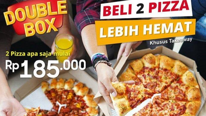Promo Pizza Hut - Beli 2 Pizza 'Double Box' Harga Mulai Rp 185 Ribu, Simak Cara Mendapatkannya