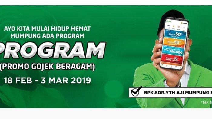 Hari Terakhir Promo Program #PromoGOJEKBeragam, Diskon hingga 50% di Banyak Layanan GO-JEK