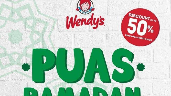 Promo Ramadan Wendy's - Sajikan 4 Menu, Gerai Makanan Cepat Saji Ini Beri Diskon hingga 50%