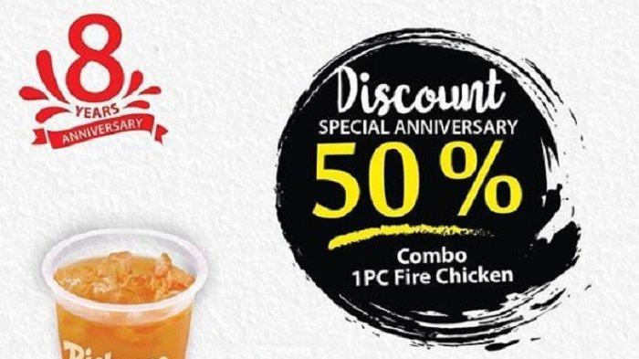 Promo Richeese Factory Februari 2019, Besok Ada Diskon 50% untuk Combo Fire Chicken