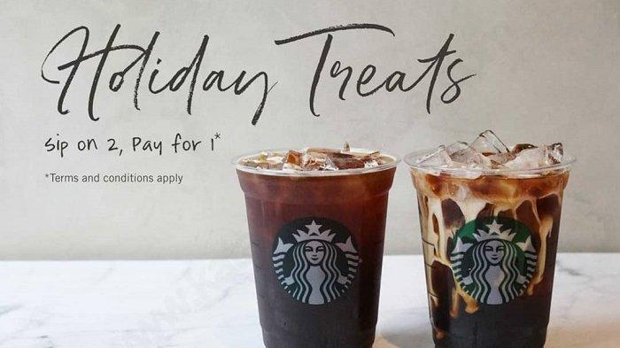 Promo Starbucks - Khusus Hari Ini  Beli 1 Dapat 2 Diseluruh Gerai Starbucks, Cek Cara Mendapatkanya