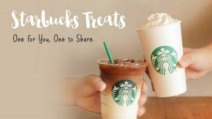Promo Starbucks Buy 1 Get 1 Free
