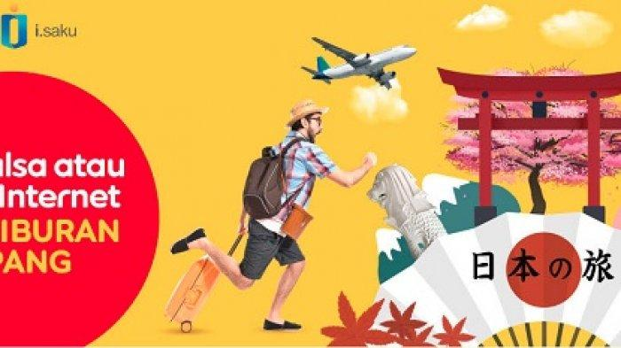 Mau Liburan Gratis ke Jepang? Ikuti Undian Beli Pulsa atau Paket Internet di Indosat Ooredoo
