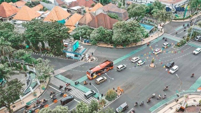 Ilustrasi PSBB di Surabaya