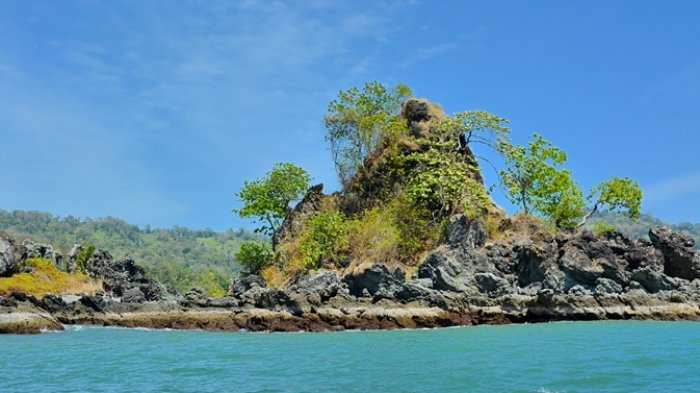 Di balik namanya yang menyeramkan, Pulau Kunti di Geopark Ciletuh, Kabupaten Sukabumi, menyembunyikan sejuta pesona alam, terutama flora dan faunanya.