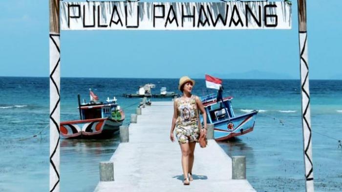 Ilustrasi Pulau Pahawang di Lampung.
