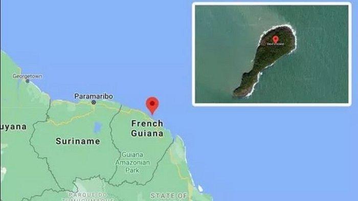 Terekam Google Maps, Pulau Terbengkalai Ini Menyimpan Masa Lalu yang Mengerikan