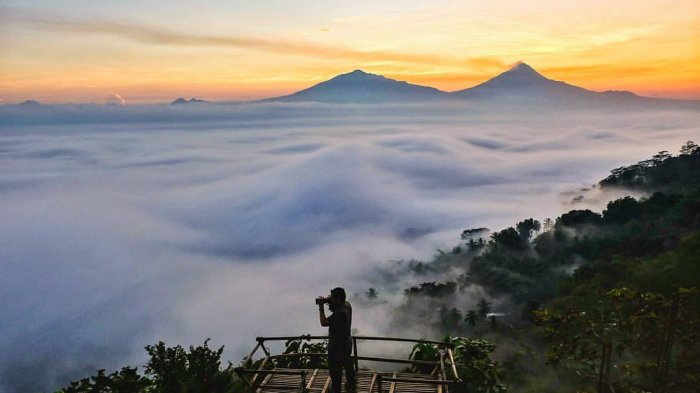 Tak Cuma Punthuk Setumbu, 4 Wisata Punthuk Ini Juga Wajib Dikunjungi Saat Berada di Magelang