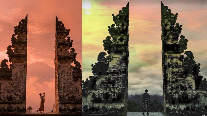 Berlatar Gagahnya Gunung Agung, Begini Potret Keindahan Pura Lempuyang Luhur di Bali