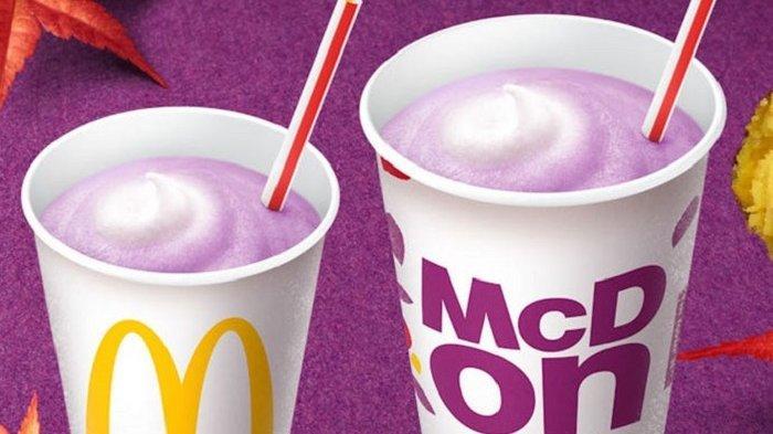 7 Menu Unik McDonald's di Berbagai Negara, Jepang Punya Purple McShake yang Gurih
