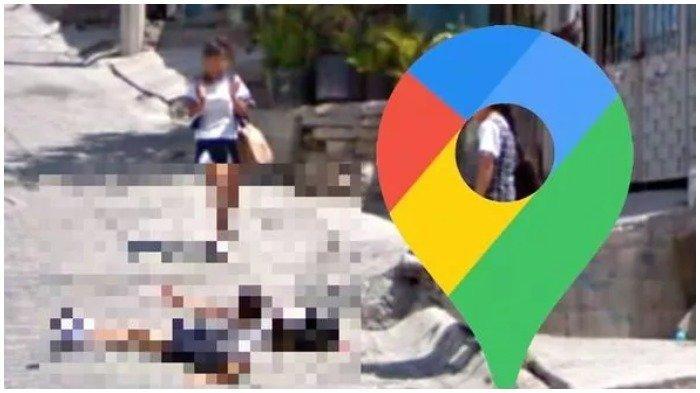 Terekam Google Maps Street View, Kejadian Memalukan Seorang Gadis Terjatuh di Depan Temannya