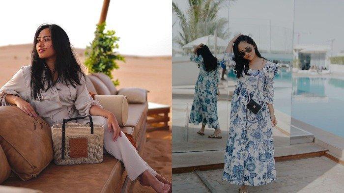 Potret Liburan Rachel Vennya di Dubai, Berpose Cantik di Depan Burj Al Arab