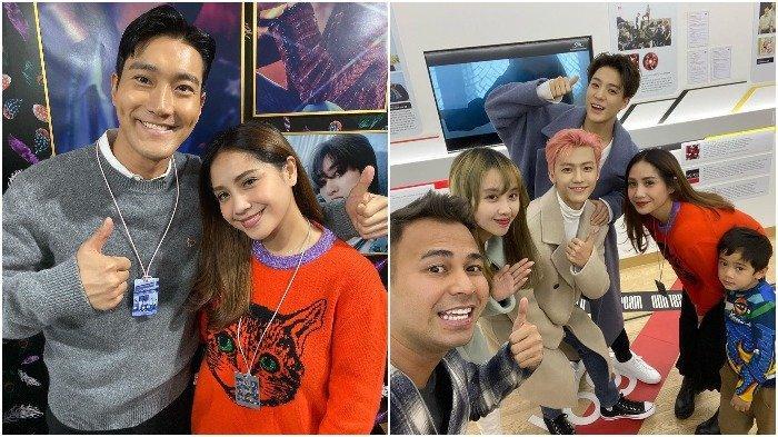 Liburan Artis - Masih di Korea, Raffi Ahmad dan Nagita Slavina Bertemu Siwon Suju dan NCT Dream