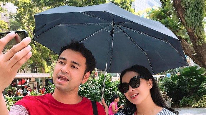 4 Tahun Pernikahan, Nagita Slavina dan Raffi Ahmad Rayakan Anniversary Sambil Liburan di Singapura