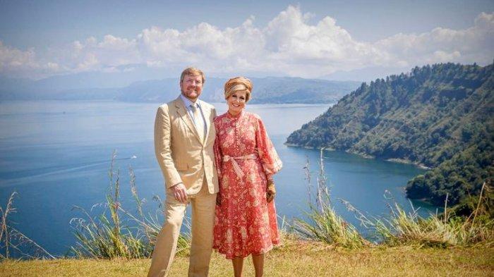 Kunjungi Kawasan Danau Toba, Raja dan Ratu Belanda Kagumi Keindahan Indonesia