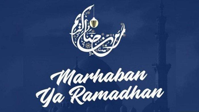 Ilustrasi ucapan Bulan Ramadan 2019