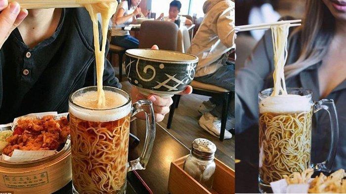 Restoran Jepang di Kanada Sajikan Kuliner Unik Bir Ramen, Ternyata Kuahnya Tak Terbuat dari Bir