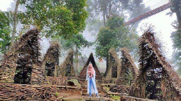 Spot foto di Ranggon Hills Bogor.