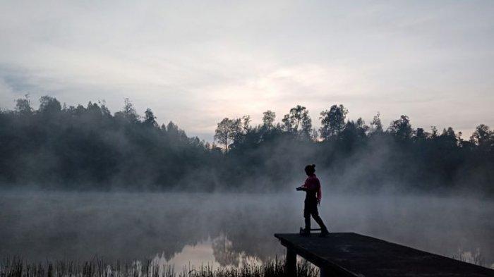 Selain Ranu Kumbolo, Ranu Regulo Jadi Spot Menikmati Matahari Terbit di Kaki Gunung Semeru