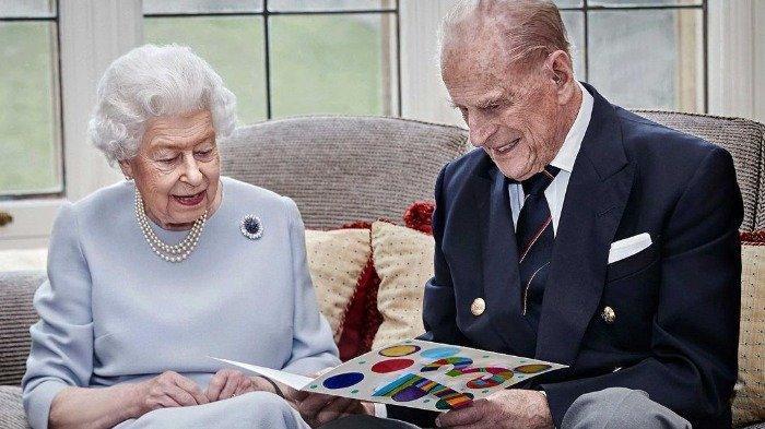 Ratu Elizabeth II dan Pangeran Philip Mountbatten, Kamis (17/12/2020).