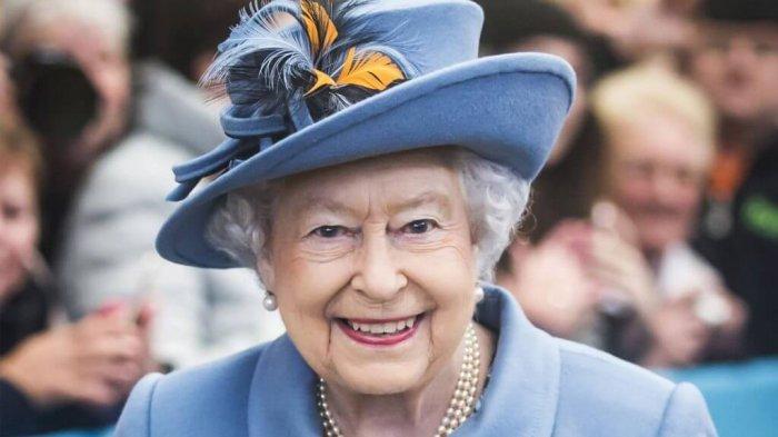 Ilustrasi potret Ratu Elizabeth II