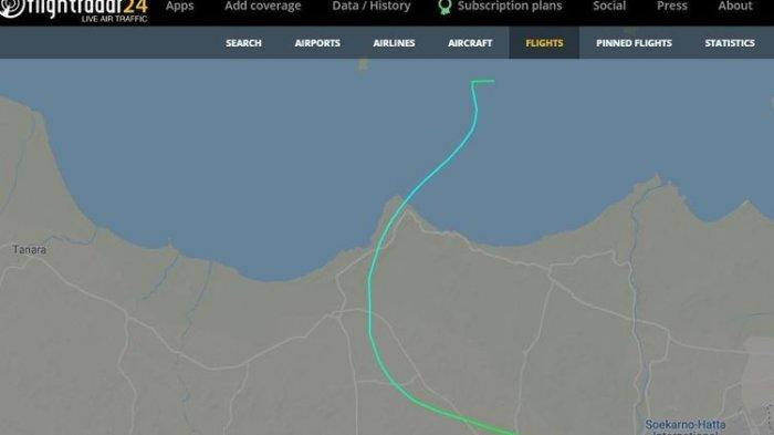 Sriwijaya Air SJ 182 Turun dari Ketinggian 3.000 Meter dalam Waktu Kurang dari Satu Menit