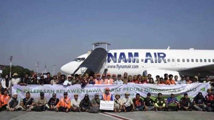 Pemerintah Provinsi Jawa Barat Sewa Pesawat untuk Kirim Tenaga Bantuan ke Palu