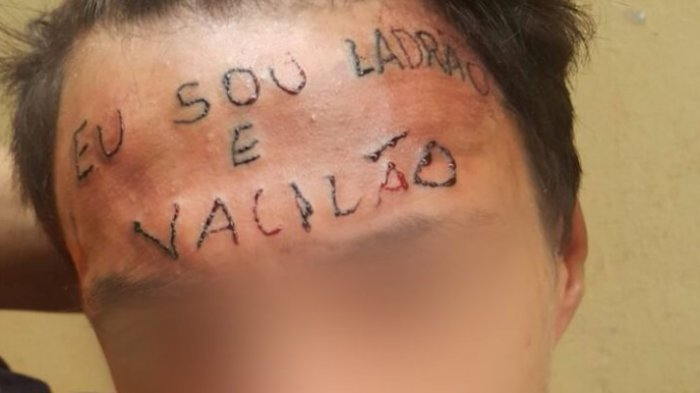 Miris! Gara-gara Hukum Pencuri dengan Cara 'Gila', Seniman Tato Brasil Ini Malah Ditangkap