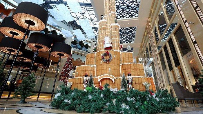 Hotel Ini Bikin Replika Burj Khalifa dari Roti Jahe, Tingginya Hampir 5 Meter