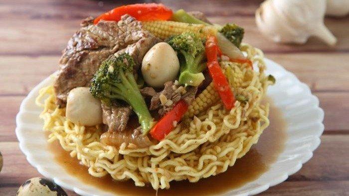 Resep Ifumi Daging Sapi, Perpaduan Daging Empuk dengan Mi Garing Ala Tiongkok yang Menggugah Selera
