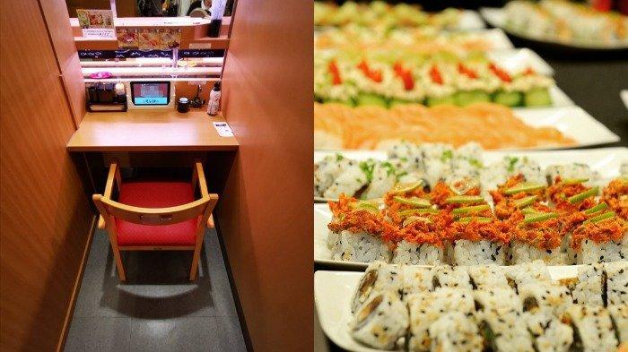 Restoran Sushi di Jepang Ini Hadirkan Tempat Makan Bertema Kapsul Agar Pelanggan Bisa Jaga Jarak