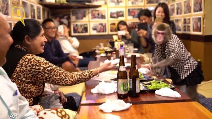 5 Restoran Terunik di Dunia yang Tak Pekerjakan Manusia Sebagai Pelayan, Ada Monyet sampai Robot
